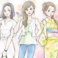 夏のデートファッション