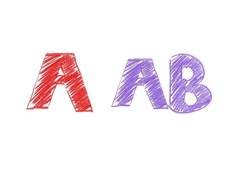A型×AB型