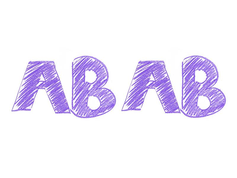 AB型×AB型の相性