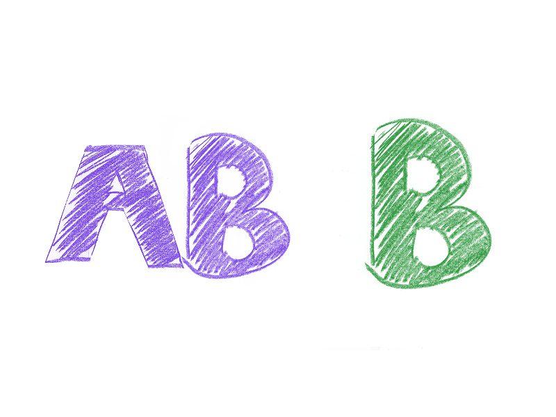AB型×B型の相性