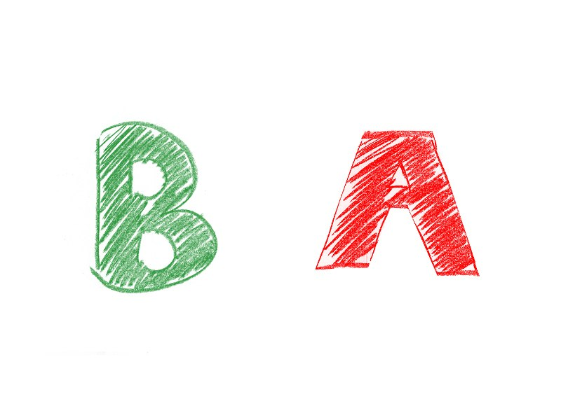 B型×A型