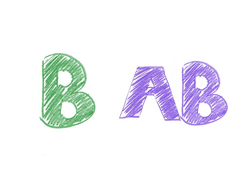 B型×AB型の相性