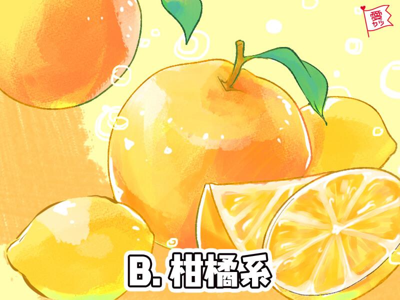本命力と柑橘系の香りのハンドクリーム