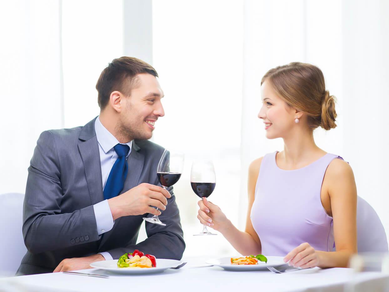 食事デートのキュン行動
