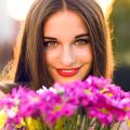 花が好きな女性