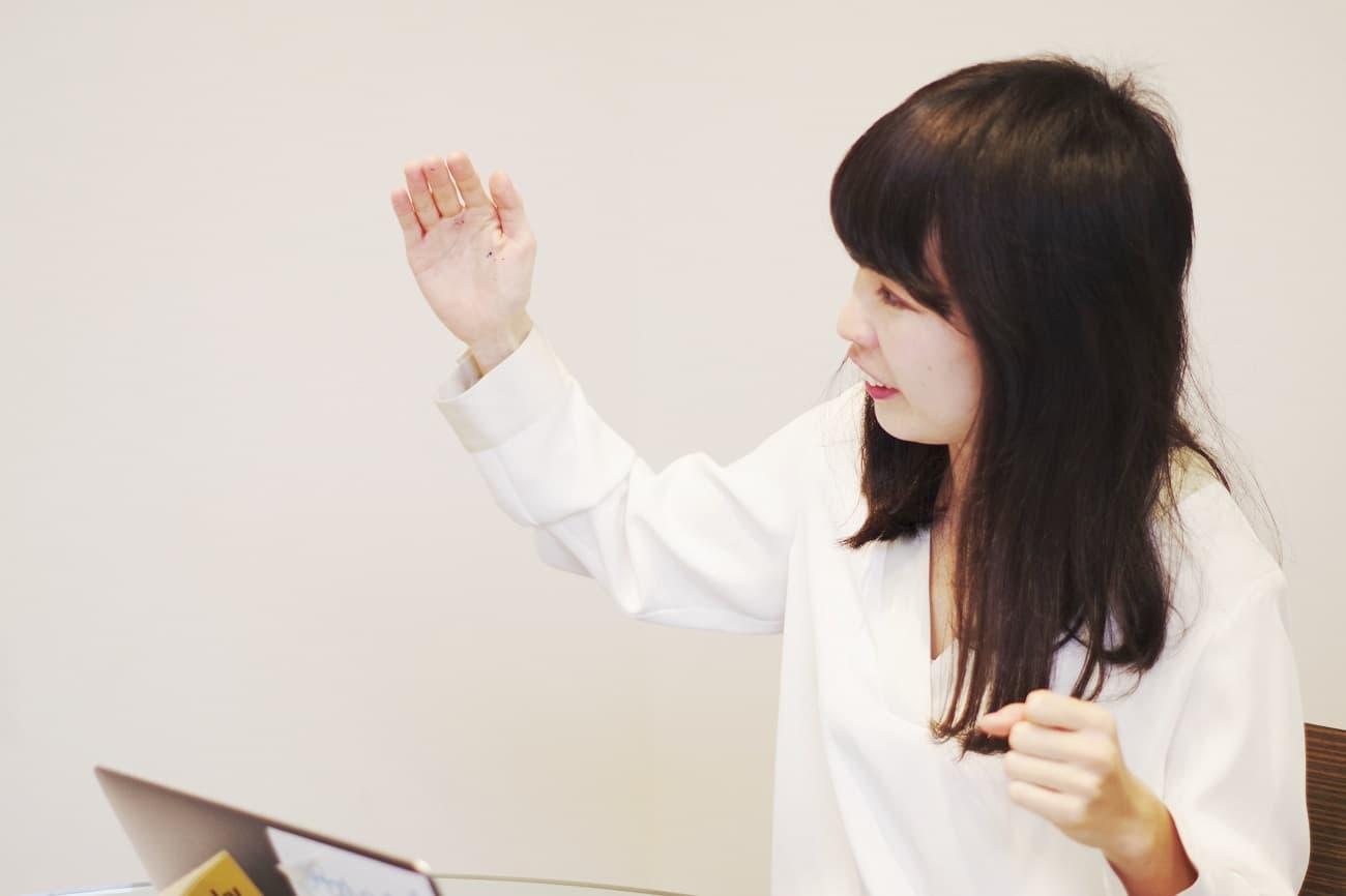 マッチアップ編集長・伊藤早紀さん