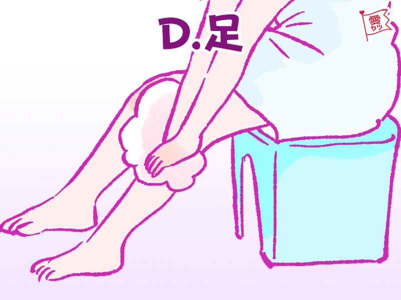 「脚」を選んだあなた