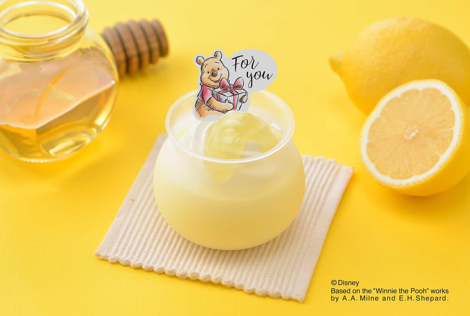 はちみつレモンの味わい♡「くまのプーさん」スイーツが期間限定で登場!